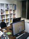 ワイド画面のモニタにした小野事務所用PC