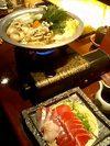 マグロのしゃぶしゃぶが美味しいねぎま鍋