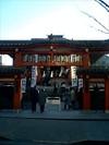 毘沙門天が祀られている「善国寺」